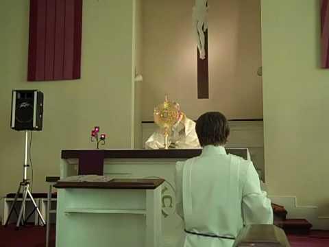 Eucharistic Adoration w/Marty Rotella  12 - Benediction + Reposition