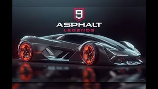 ASPHALT 9 LEGENDS - LAMBORGHINI EGOISTA - GAMEPLAY ( iOS / Android )