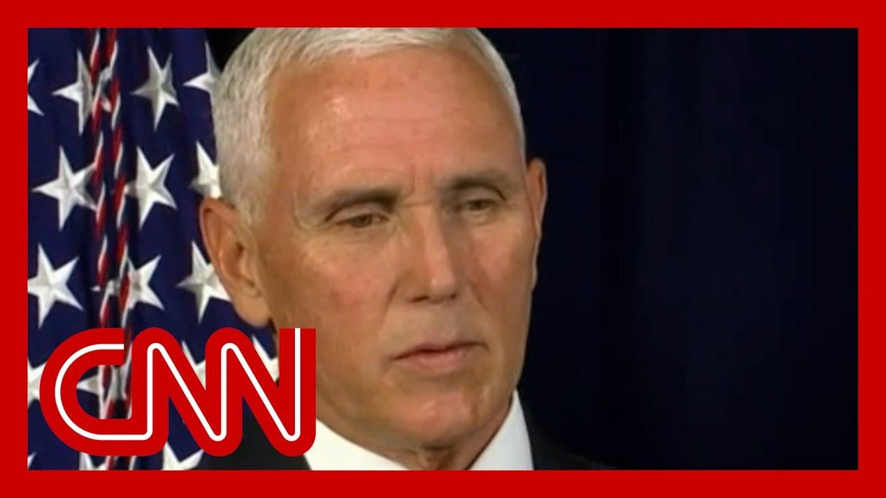 Mike Pence defends Trump's Ukraine call