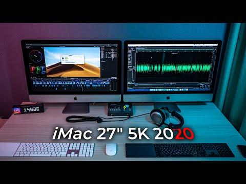 БОЛЬШОЙ обзор и опыт использования нового iMac 5K 27 2020 года с нанотекстурой. Игры на Mac!