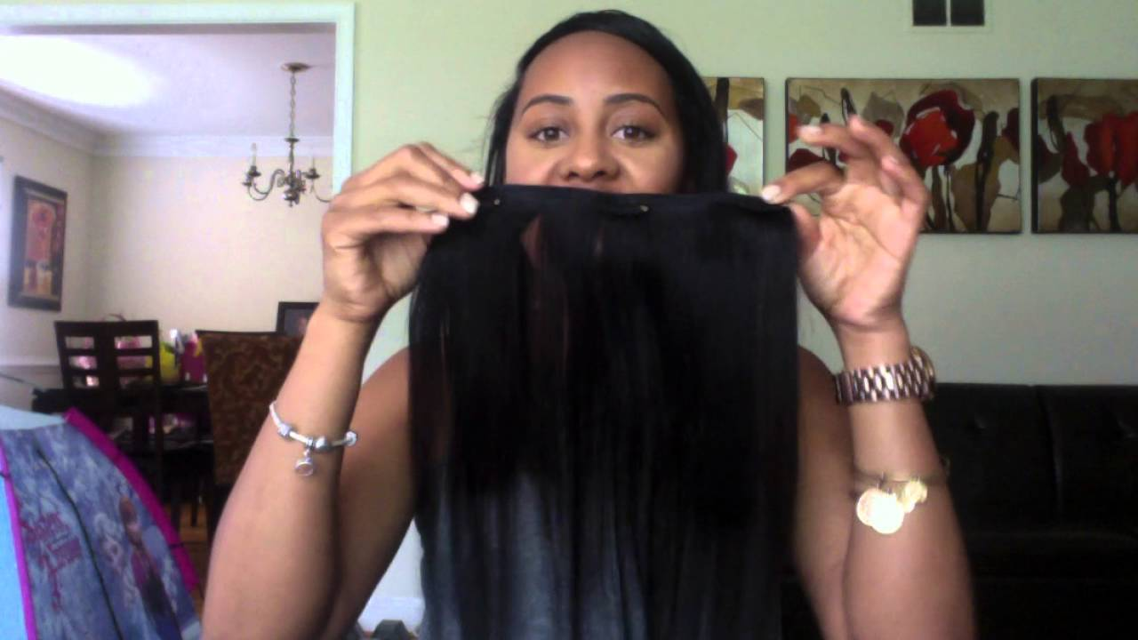 Aliexpress Clip In Hair Review Youtube
