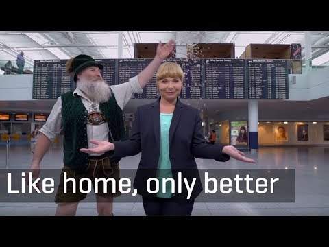 Munich Airport – Like Home, Only Better