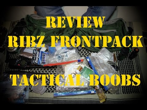 [Review] RIBZ Frontpack 8L - Tactical Boobs