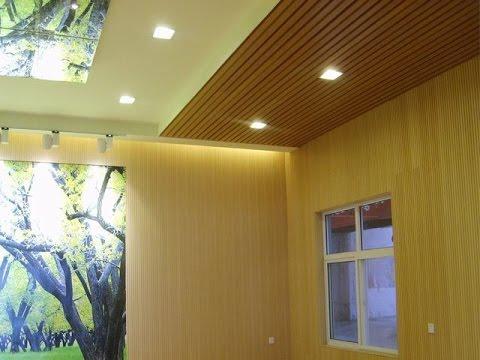 interlocking outdoor pvc wall panels - YouTube