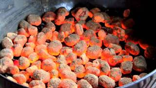 How to control the temperature of your charcoal barbecue