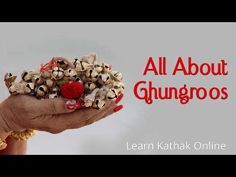 All you need to know about Ghungroos - How many to wear?, Where to buy ?, How to tie ?