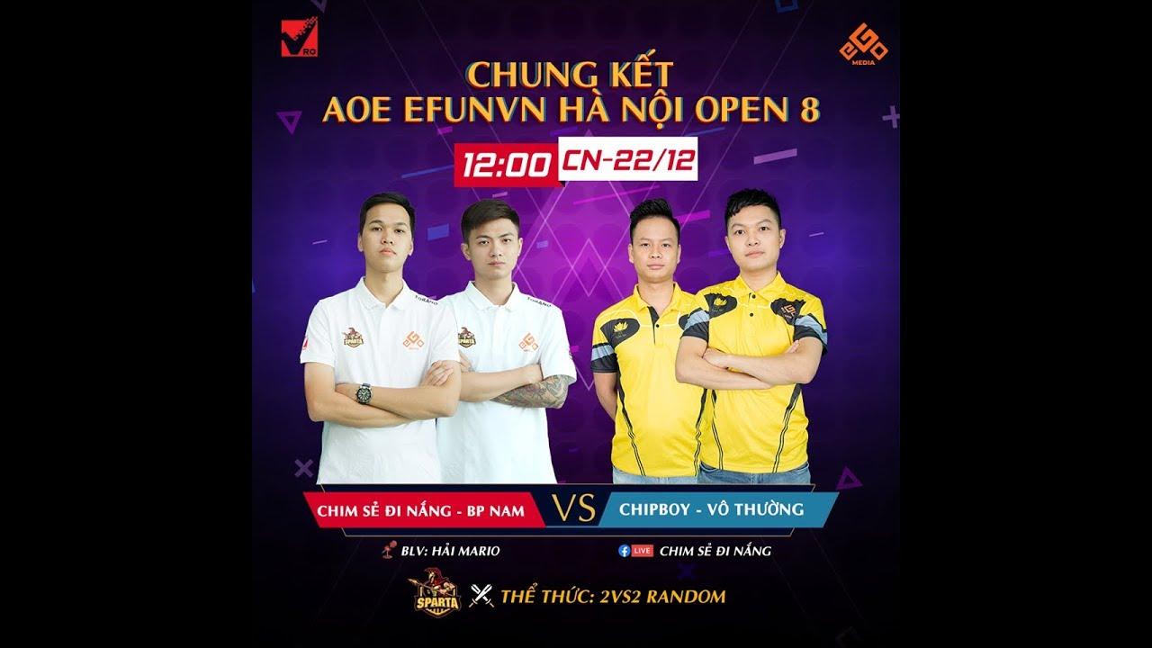 Trực tiếp AOE | Showmatch Hà Nội Open 8 | Máy Chim Sẻ Đi Nắng | 22/12/2019