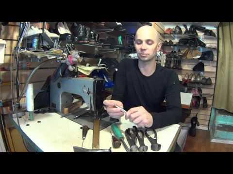 Минимальный набор инструмента для ремонта обуви.