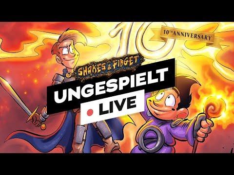 #ungeklickt & Shakes & Fidget - 10 Jahre Jubiläum 🔴 LIVE