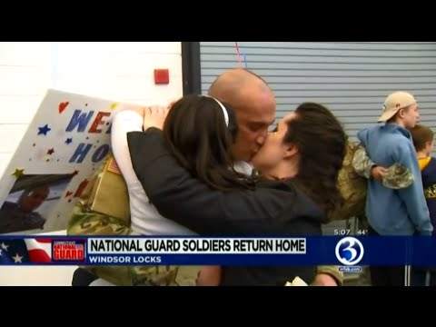 CT National Guard 192nd Military Battalion Homecoming