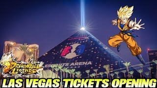 Las Vegas Tickets Summons Opening! 😎 Können wir kostenlos Sparkings ziehen? | Dragon Ball Legends