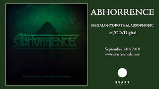 Abhorrence - Hyperobject Beneath The Waves (Official Audio)