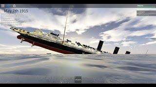 Roblox Lusitania Sinking