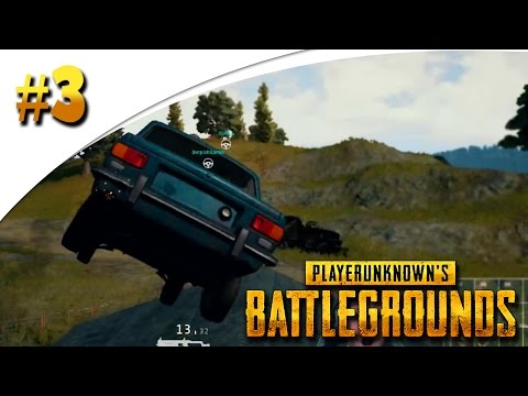 MEGA BACKFLIP OVER EEN HUIS! (Player Unknown's Battlegrounds #3)