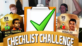 FIFA 16 CHECKLIST CHALLENGE W/ THE BRONZE RONALDO!?!