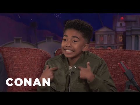 Miles Brown Performs An Original Rap  About Conan   CONAN on TBS