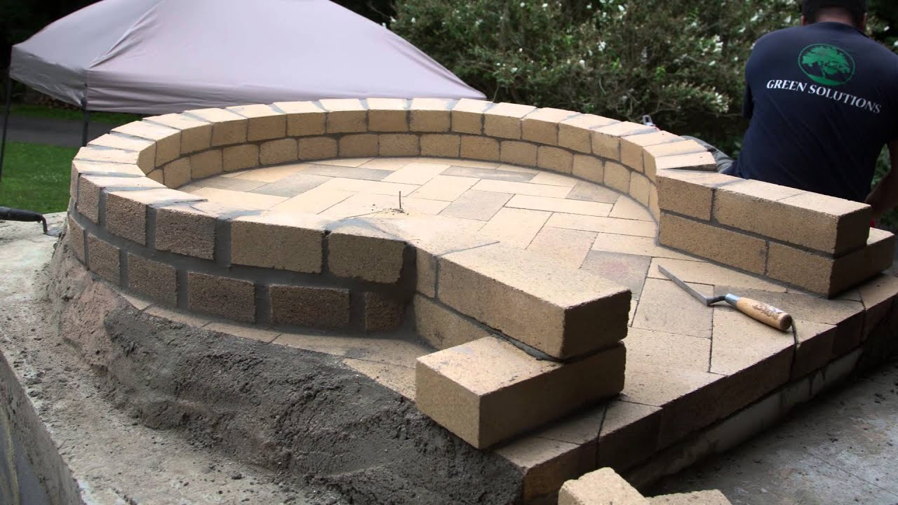 Wood Fired Brick Oven Project Youtube