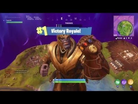 how to get thanos fortnite