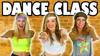 Dance Class Challenge with Margeaux from Rapunzel Music Video. Totally TV