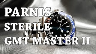Parnis GMT Master Sterile Homage - Review, Measurements, Lume, Lewd South American