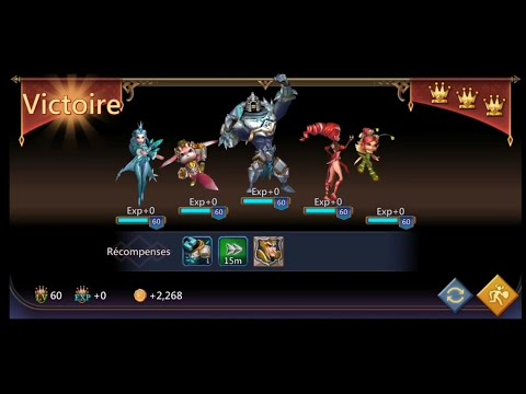 Lords Mobile- Elite Chapter 8-3 Without Rose Knight F2p