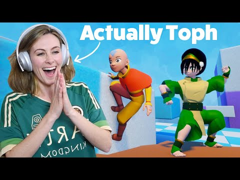 Toph & Sokka React To Fan-Made Avatar The Last Airbender Game