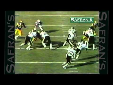 George Rogers ~ Trick Play 59 Yard Touchdown ~ New Orleans Saints Hilites ~ USC Gamecocks