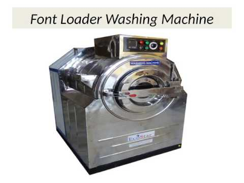 Industrial Washing Machine And Dryer Price