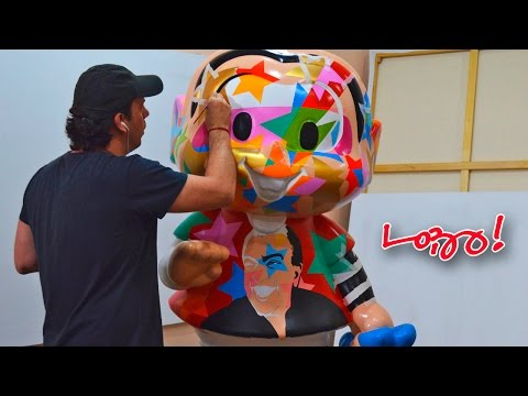 Live Painting | Lobo | Pop Art