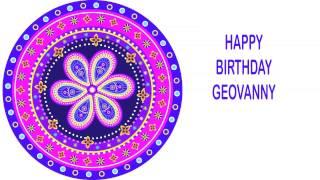 Geovanny   Indian Designs - Happy Birthday