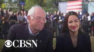 AOC Explains Bernie's Impeccable Courage & Consistency