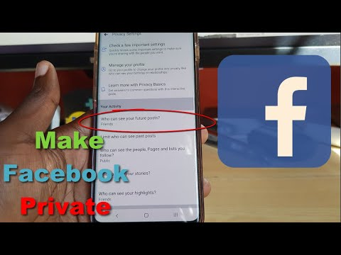 How To Make Facebook Private So Only Friends Can See