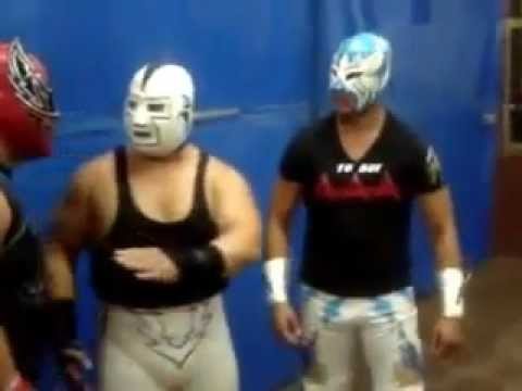 """sin cara's family """"dad and brothers"""" - YouTube"""