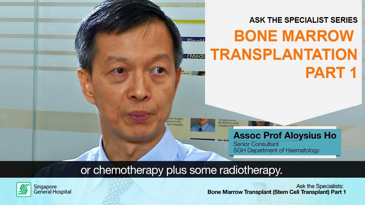 Ask the Specialists: Bone Marrow Transplantation (Part 1)