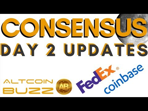 Consensus NY : Crypto Conference Day 2, FedEx, Coinbase and more in Bitcoin World!