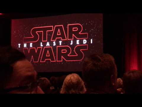 LIVE: The Last Jedi New Teaser Trailer and Fan Reaction - Star Wars Celebration 2017