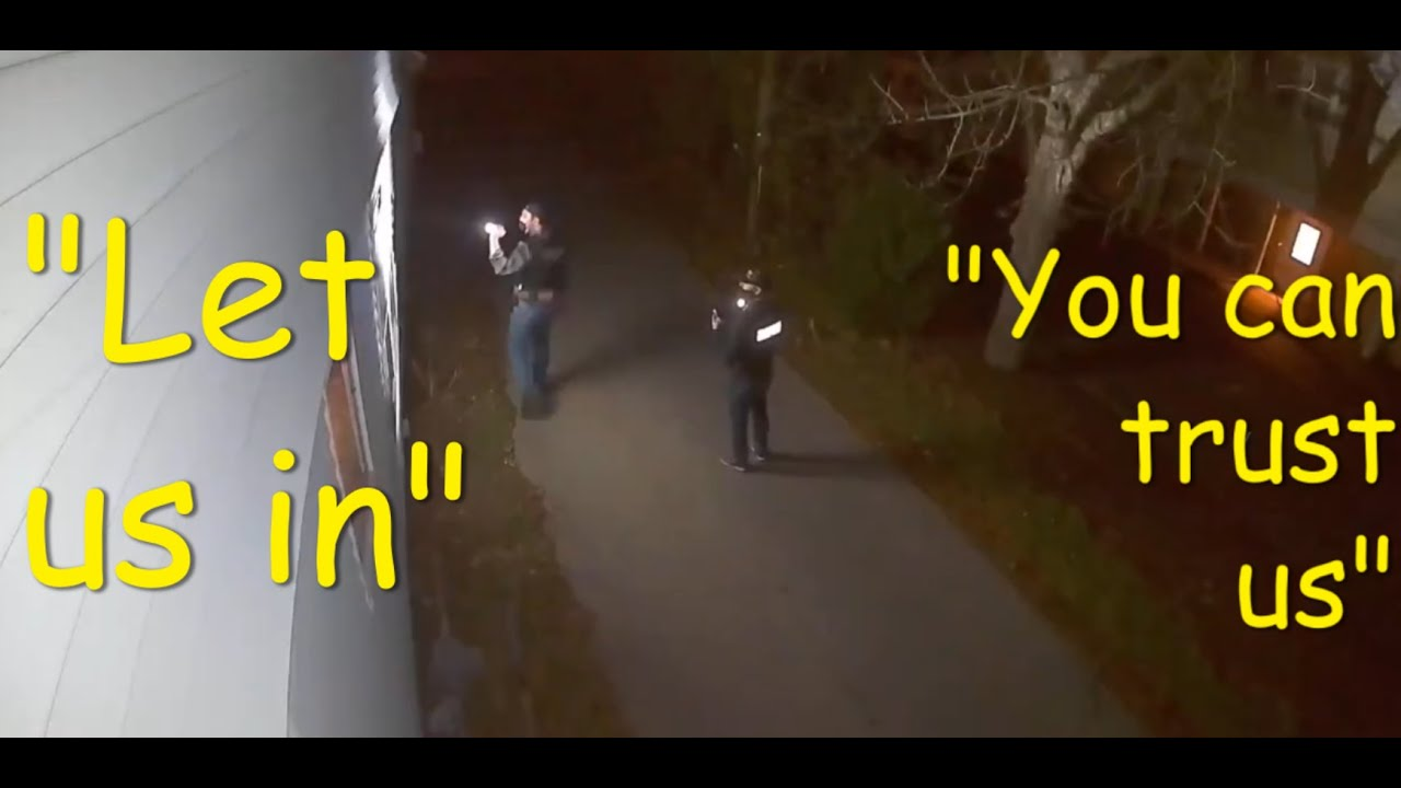 KRAZY: COPS GO NUTS WHEN DENIED ENTRY!