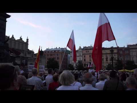 Gazeta Polska / PIS demonstration in Krakow
