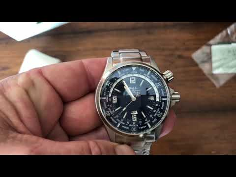 Unboxing a Ball Watch, Ball Engineer Master II Worldtime Diver