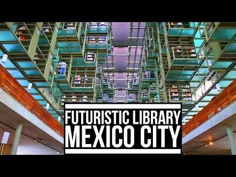 FUTURISTIC LIBRARY IN MEXICO CITY | Eileen Aldis