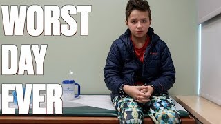 STREP TEST GONE HORRIBLY WRONG | NOT FAKING SICK | WORST FEAR REALIZED