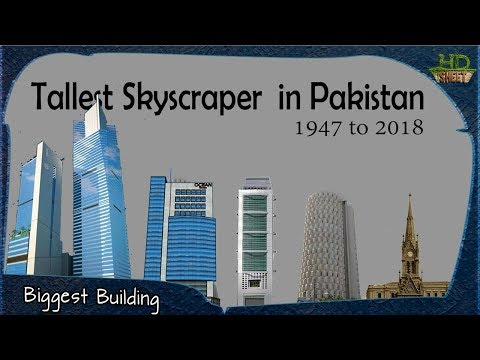 Tallest Building in Pakistan | Timeline from 1947 to 2018
