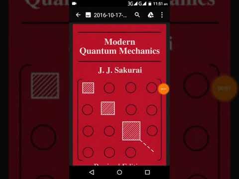 quantum mechanics sakurai