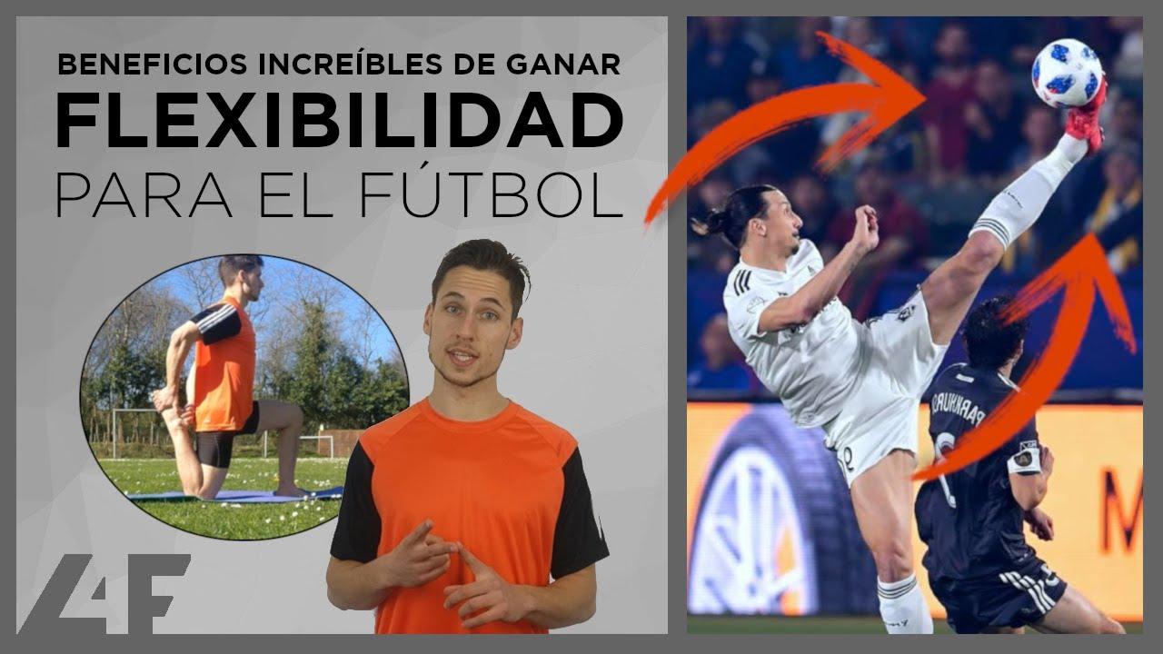 ejercicios de flexibilidad en futbol