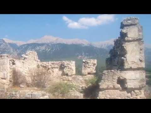 The Ancient Ruins Of Tlos, Turkey