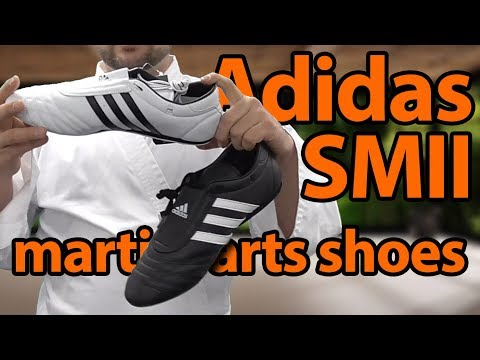 Adidas SMII Martial Arts Shoes Unboxing and Review