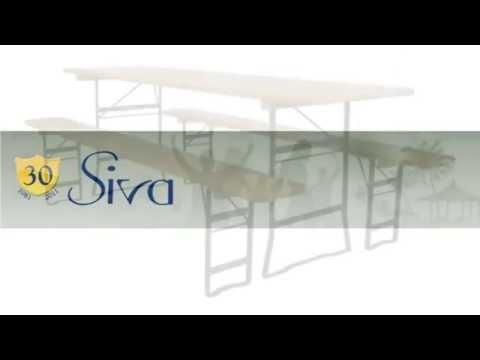 Siva Tavoli E Panche.Tavoli Pieghevoli E Panche Pieghevoli Artigianali Per Uso