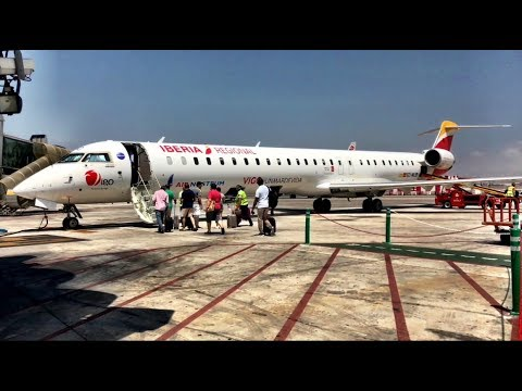 AIR NOSTRUM (for Iberia Regional) CRJ1000 Trip Report: Malaga to Madrid