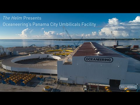 A Tour of Oceaneering's Panama City Umbilicals Facility
