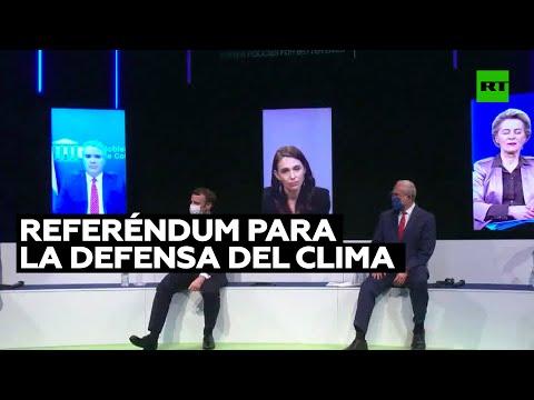 RT en Español: Macron propone un referéndum para la defensa del clima en la Constitución